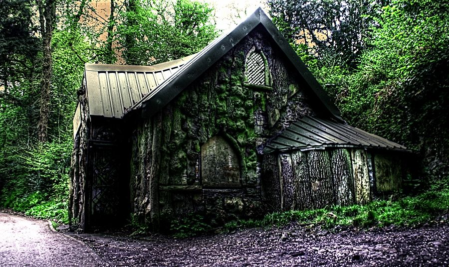 Witches Cottage Hdr 2 By Angiwallace On Deviantart Witch Cottage Forest Cottage Witch House