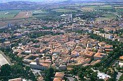 Grosseto, capital de la provincia del mismo nombre. Toscana, Italia.