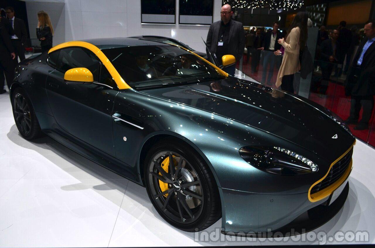 Geneva Live Aston Martin V8 Vantage N430 Db9 Carbon Black Aston Martin V8 Aston Martin Aston
