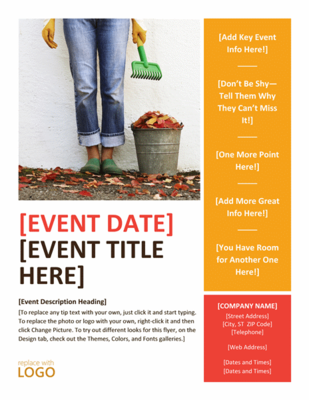 Get Free Templates For Your Fall Event Flyers Invitations And