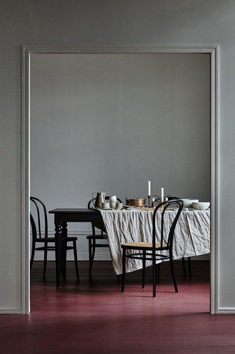 Tammiparketti Burgundy harjattu mattalakattu - Timberwise