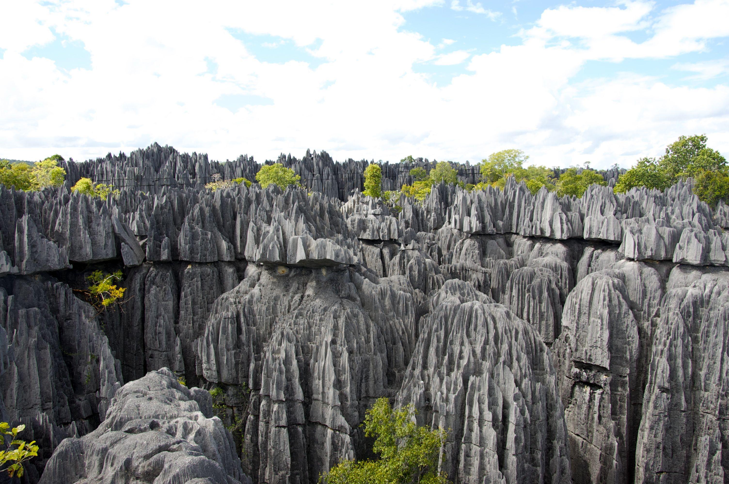 Tsingy De Bemaraha Madagascar Wonders Of The World Africa