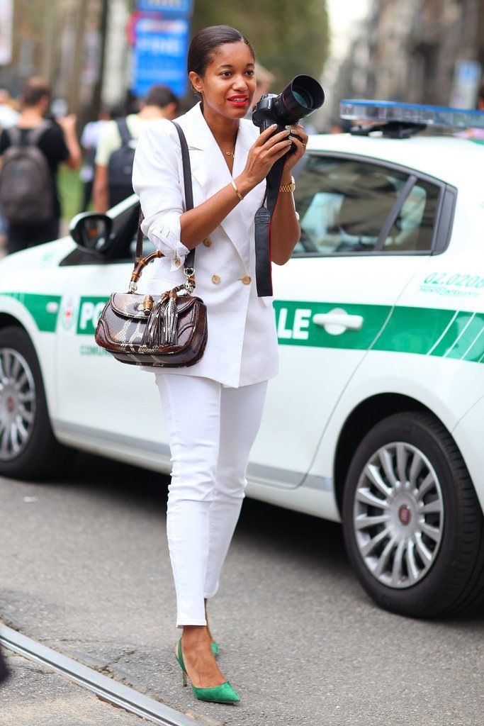Streetstyle from Milan FW