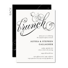 Post Wedding Brunch Invitations #weddingbrunch #weddinginvitations  #weddinginspiration