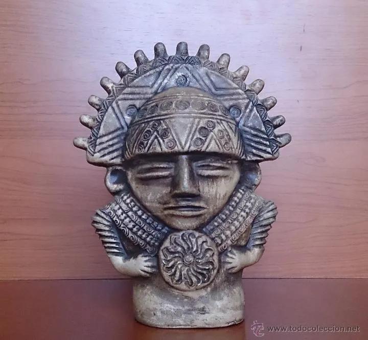 Antiguedades Figura En Ceramica Del Dios Inca Inti Dios Del Sol Foto 13 44656872 En 2020 Dioses Incas Inca Inti Inca