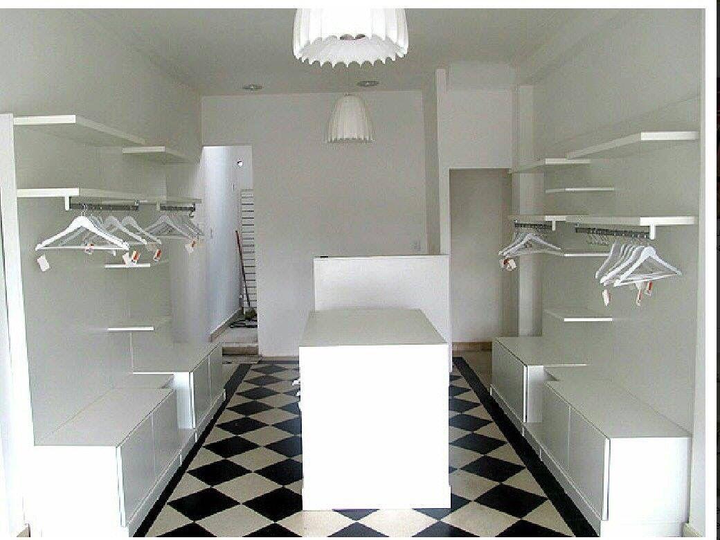 Muebles de tienda mobiliarios de exhibicion boutique for Decoracion de interiores locales de ropa
