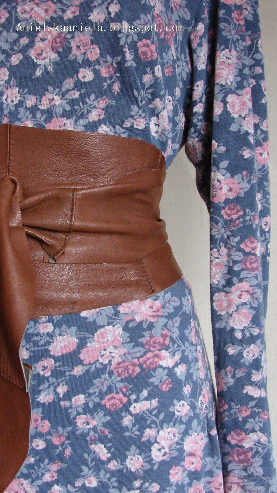 Diy Leather Obi Belt Pattern Skorzany Owijany Pasek Obi Xxl
