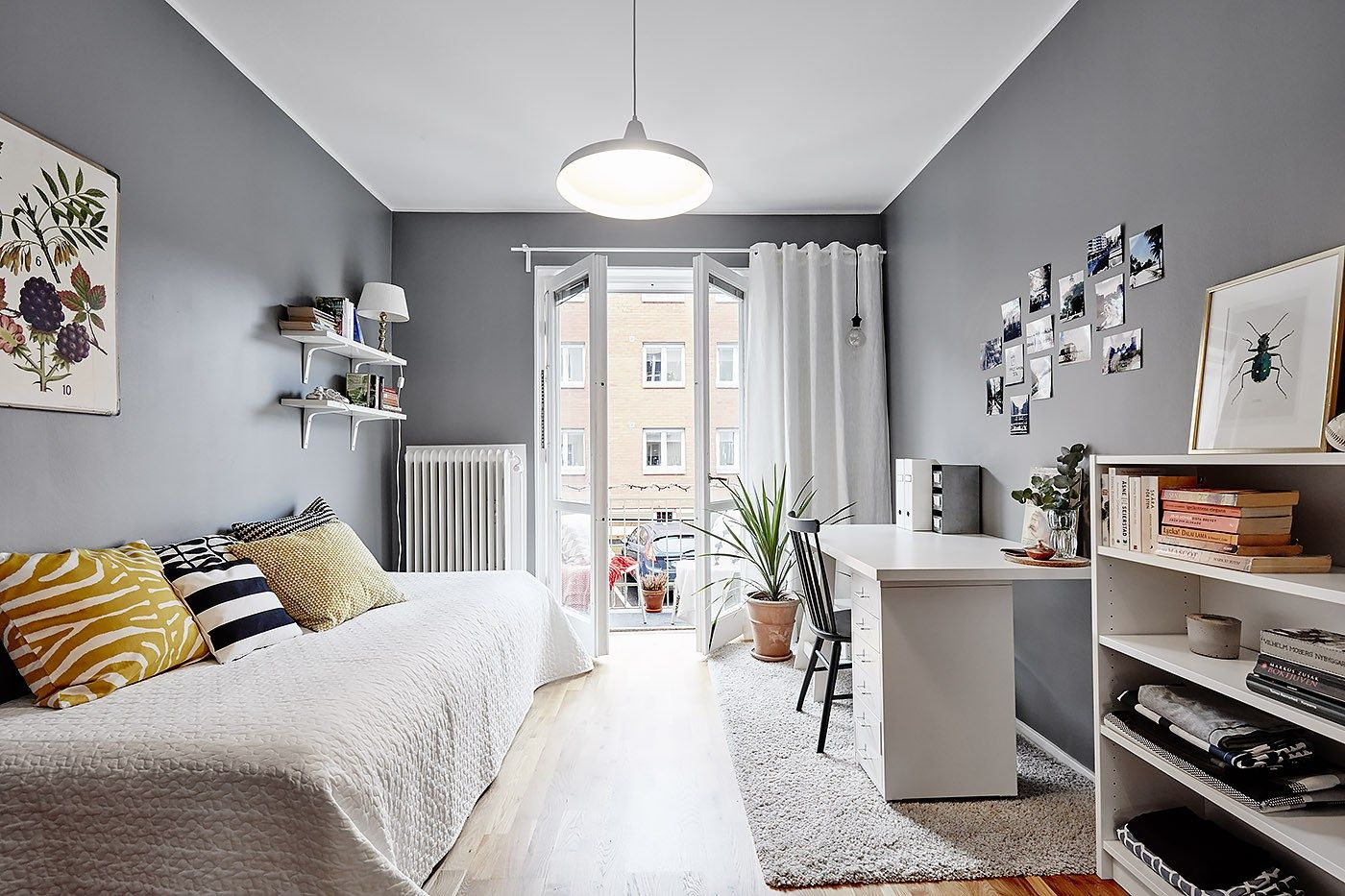 Habitaciones juveniles de estilo n rdico pinterest for Adornos habitacion juvenil