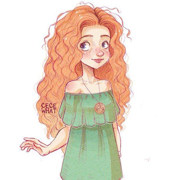 Рыжая девушка картинки