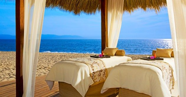 Enjoy a relaxing and well deserved couples massage on the for Spa vacations for couples