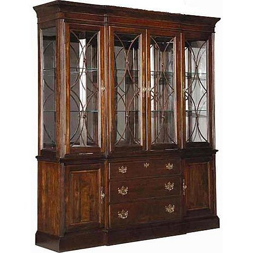 KC 60 088 Kincaid Furniture Carriage House Breakfront China Cabinet