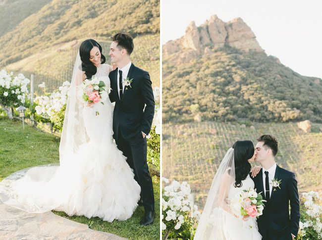 Glamorous Malibu Wedding Sarah Brendon Malibu Wedding Brendon Urie Wedding Glamorous Wedding