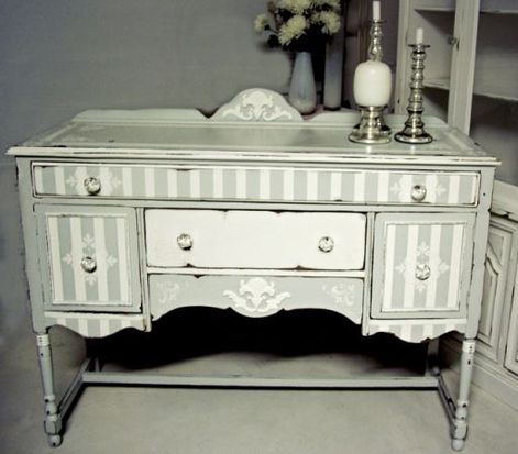 Painted credenza - Love it!!