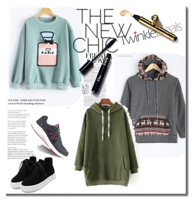 """Hoodies"" by anida-mostarlic ❤ liked on Polyvore featuring New Balance, warm, Hoodies, winterfashion and twinkledeals"
