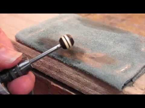 How To Make Your Own Wooden Beads The Beading Gem S Journal Dremel Carving Dremel Wooden Beads
