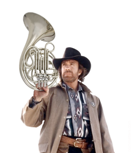 Chuck Norris Only Plays The Best French Horn Conductors Chuck Norris