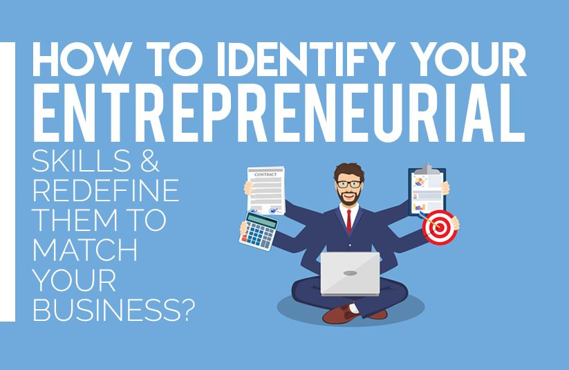 How To Identify Your Entrepreneurial Skills And Redefine Them To Match Your Business Entrepreneurial Skills Entrepreneurial Skills