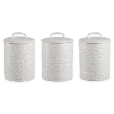 Mason Cash Large Ceramic Kitchen Storage Jar Coffee Tea Sugar Canister Container