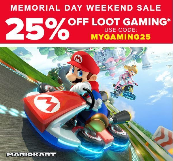 Video Game Fans! Don't miss your chance to save 25% off Loot Gaming subscriptions. Sign-up today and save! http://www.findsubscriptionboxes.com/coupons/loot-gaming-memorial-day-sale-save25off/?utm_campaign=coschedule&utm_source=pinterest&utm_medium=Find%20Subscription%20Boxes&utm_content=Loot%20Gaming%20Memorial%20Day%20Sale%3A%20Save%2025%25%20Off%201%20and%203%20Month%20Subscriptions  #LootGaming