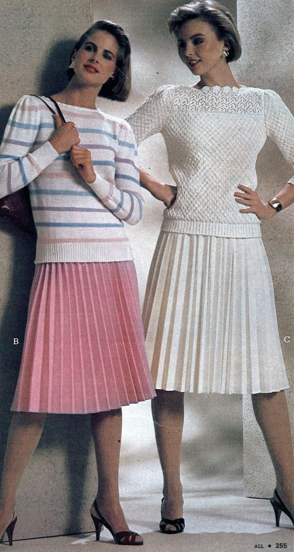 1980s Fashion for Women & Girls