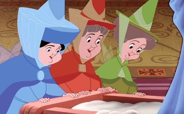 The Powerpuff Girls Were Based On Fauna Flora And Merryweather