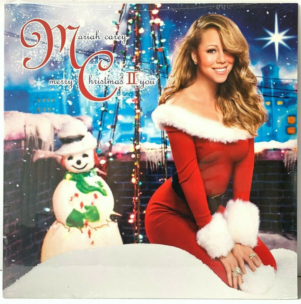 Details about Mariah Carey  Merry Christmas II You LP