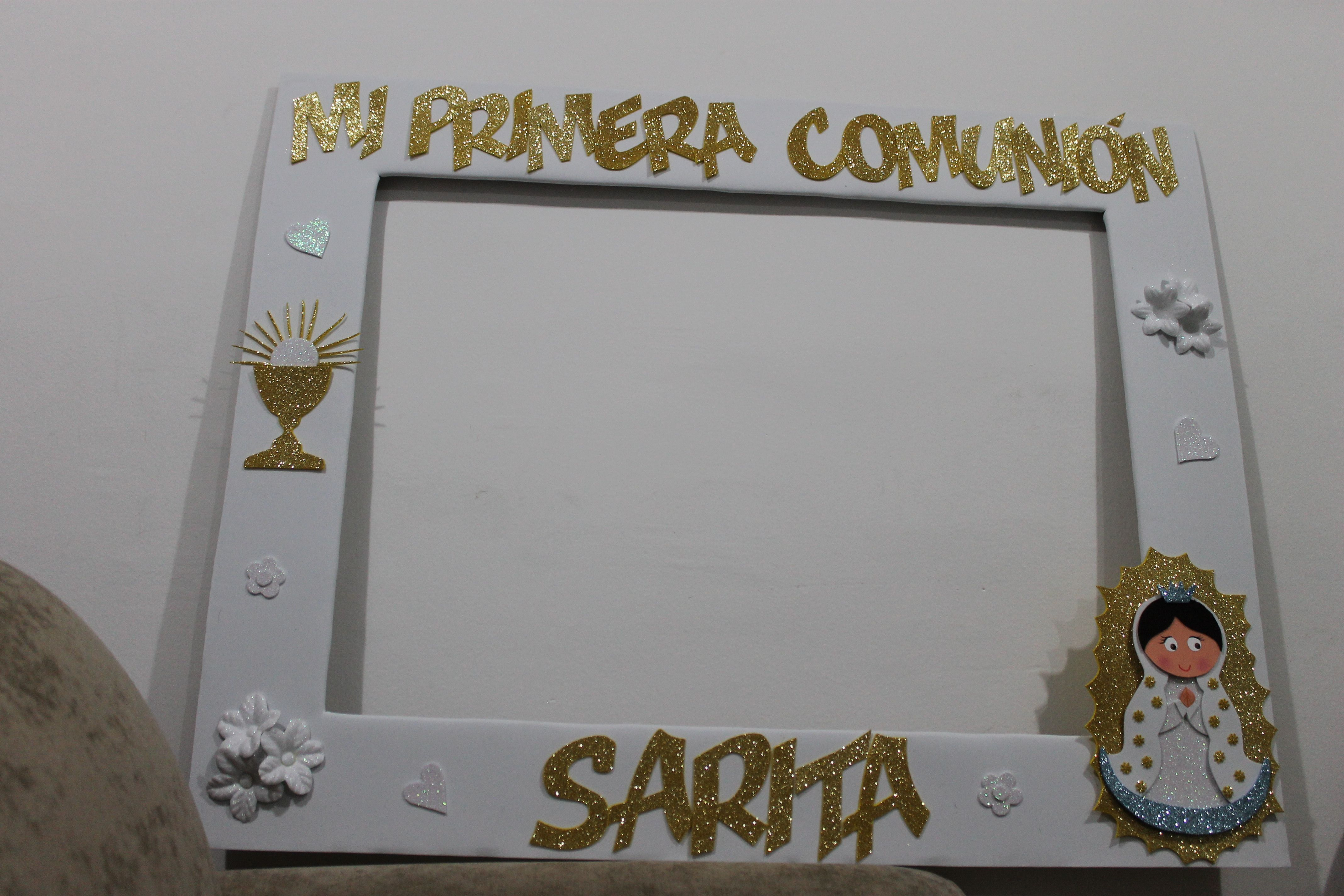 Marco para fotos de primera comuni n comunion - Marcos para fotos economicos ...