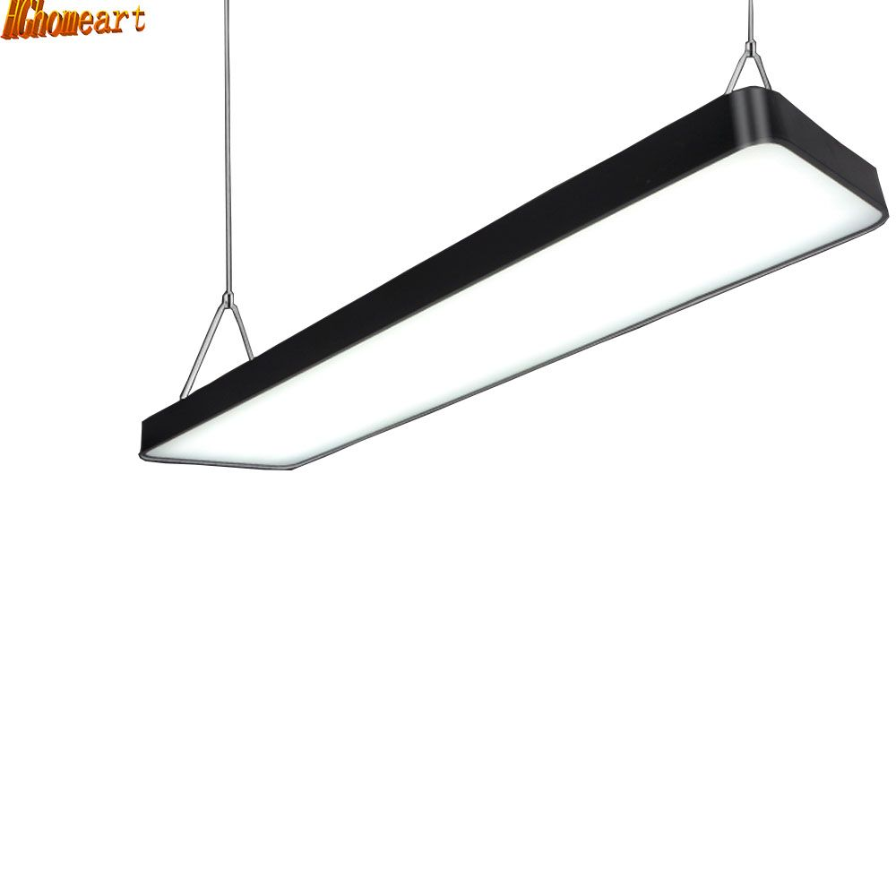 office hanging lights. HGhomeart LED Ladders Office Pendant Light Rectangular Hanging Lights Simple Fashion Mall General #Affiliate O