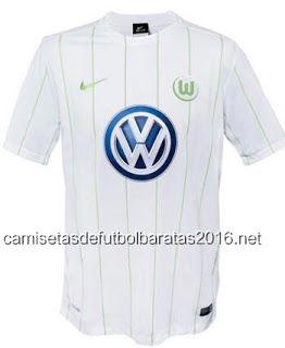e585c49c46d4a Comprar replicas camisetas de fútbol baratas 2016   Nike camiseta Wolfsburg  2017