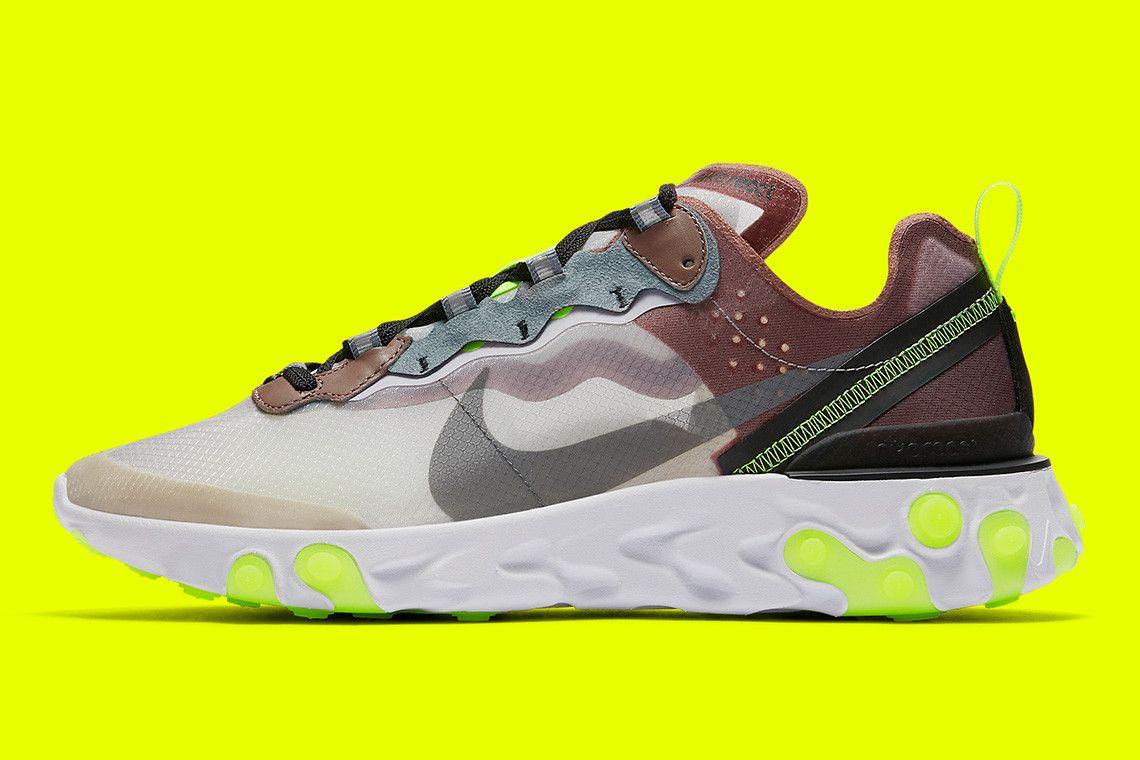75388e48e984 Nike React Element 87 全新「Dark Grey」及「Desert Sand」配色官方圖片 ...