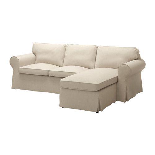 Ektorp 3er Sofa Mit Recamiere Nordvalla Nordvalla Dunkelbeige Ikea Deutschland Ektorp Sofa 3er Sofa Und 2er Sofa