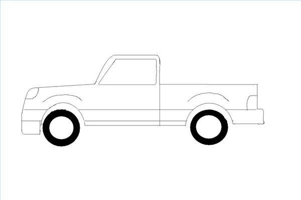 How To Draw A Truck In Ms Paint In 2019 Blue Flowers