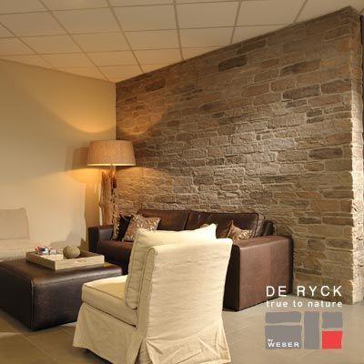 voir la fiche produit plaquettes de parements murok sierra de ryck by weser id es mur. Black Bedroom Furniture Sets. Home Design Ideas