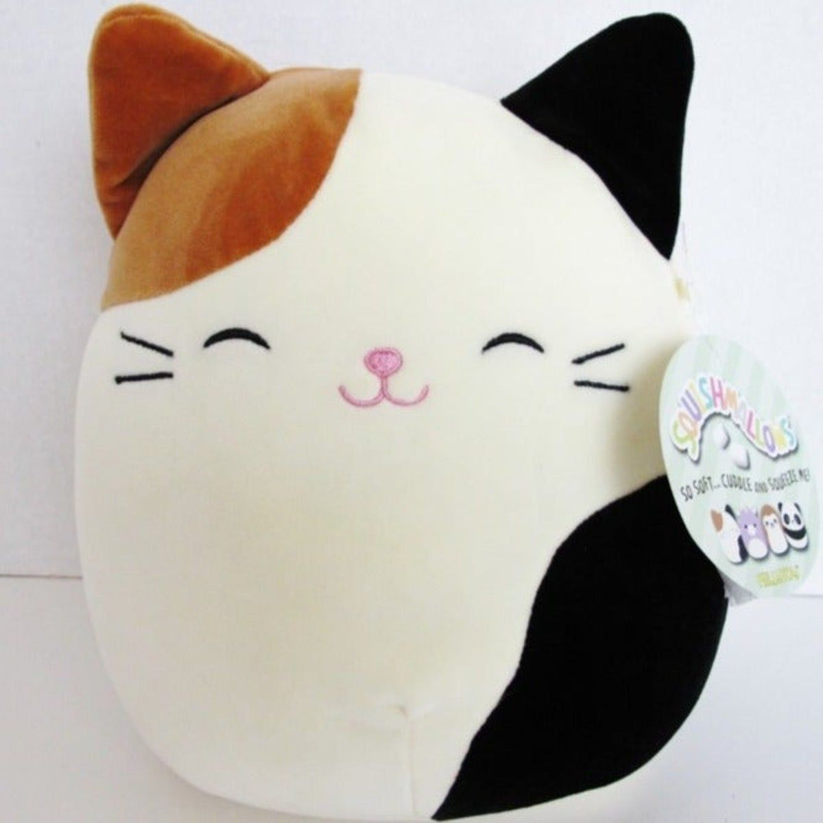 Squishmallow Cameron The Calico Cat Calico Cat Animal Pillows Cute Stuffed Animals