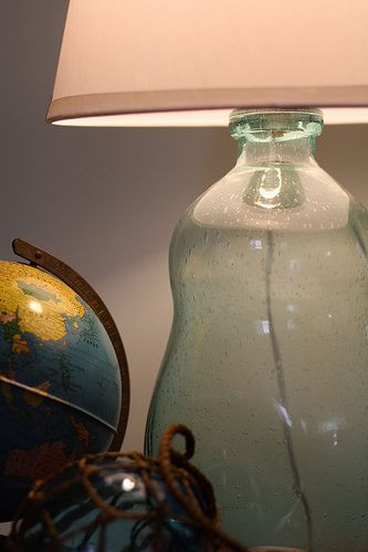 Diy Lamp From A Bottle Simple Look Easy Project Great Results