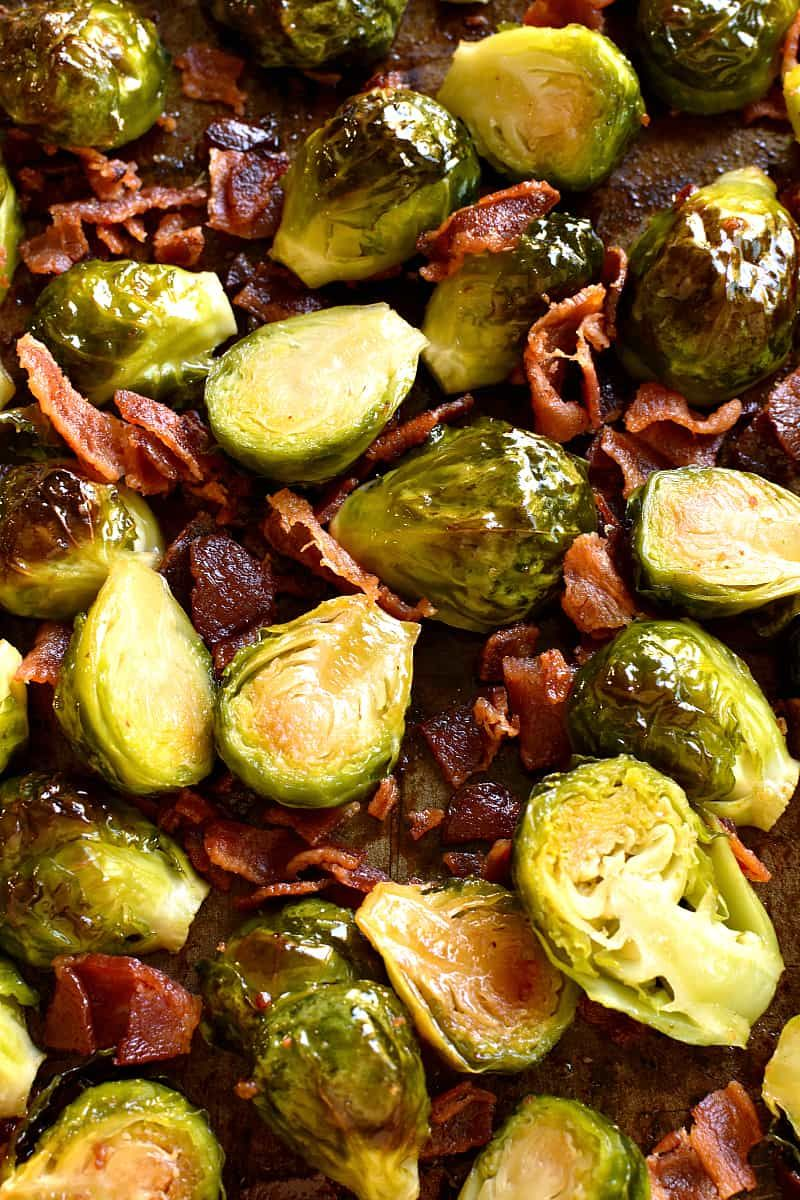 Brussel Sprout Recipes Roasted Maple Syrup