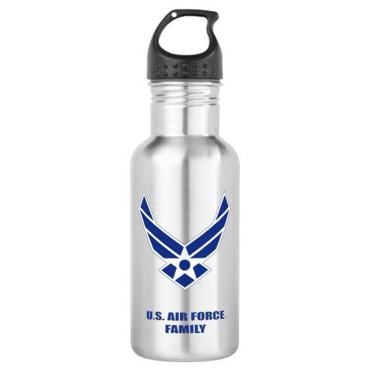 U.S. Air Force Family Water Bottle | Zazzle.com