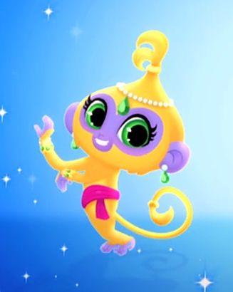 Shimmers Monkey Tala Google Shimmer And Shine