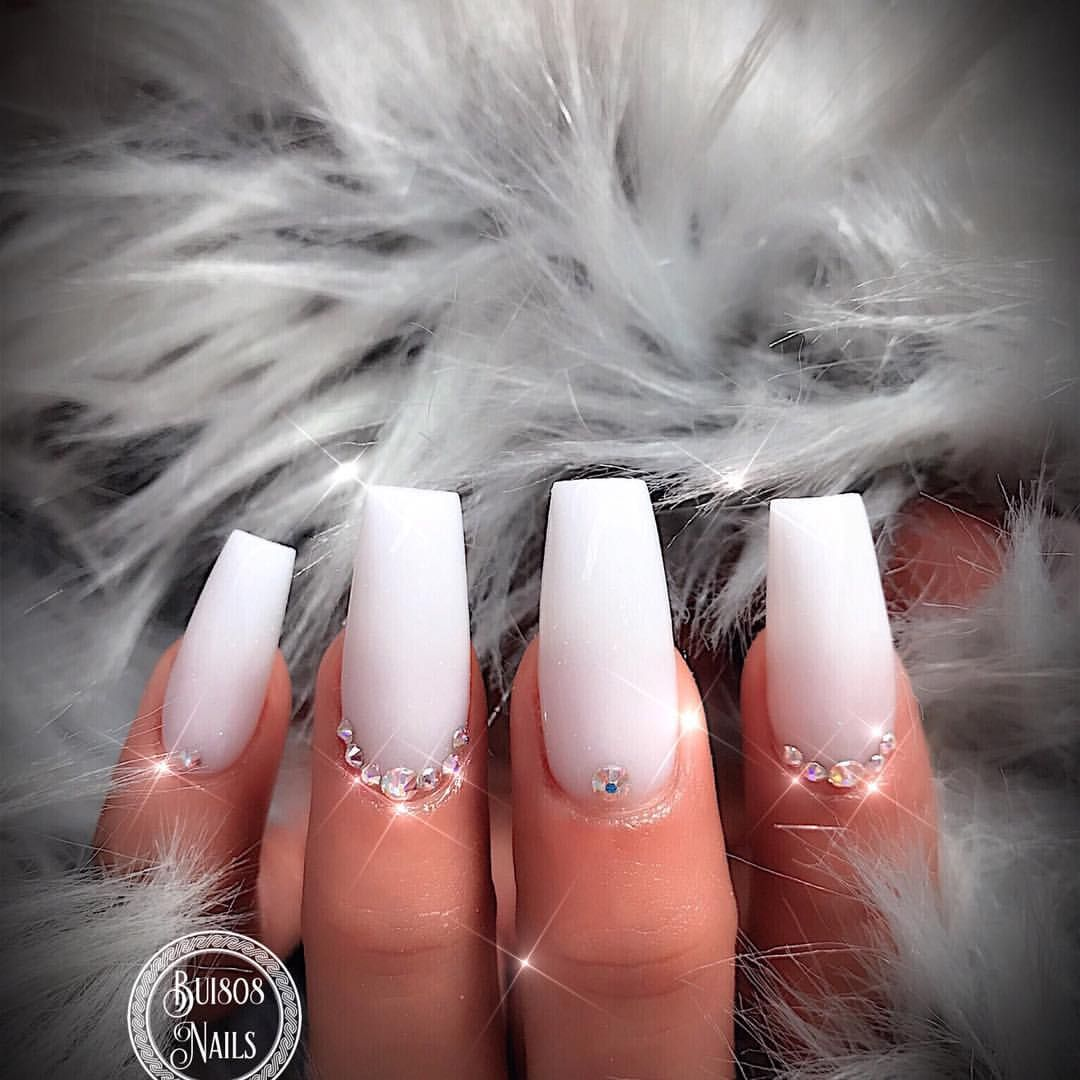 159 Likes 3 Comments Bui808 Nails Bui808 Nails On Instagram Snow White Powder From Jas Powder Alextruong Nails Jimm Nails Powder Nails Birthday Nails