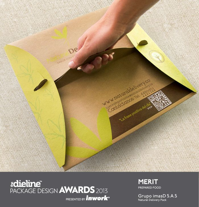 The Dieline Package Design Awards 2013: Prepared Food, Merit - Natural Delivery Pack - The Dieline -