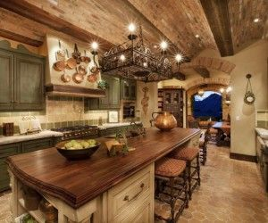 Beautiful Kitchen. Gorgeous wooden décor that's perfect if you're looking for a more natural awe-inspiring atmosphere.