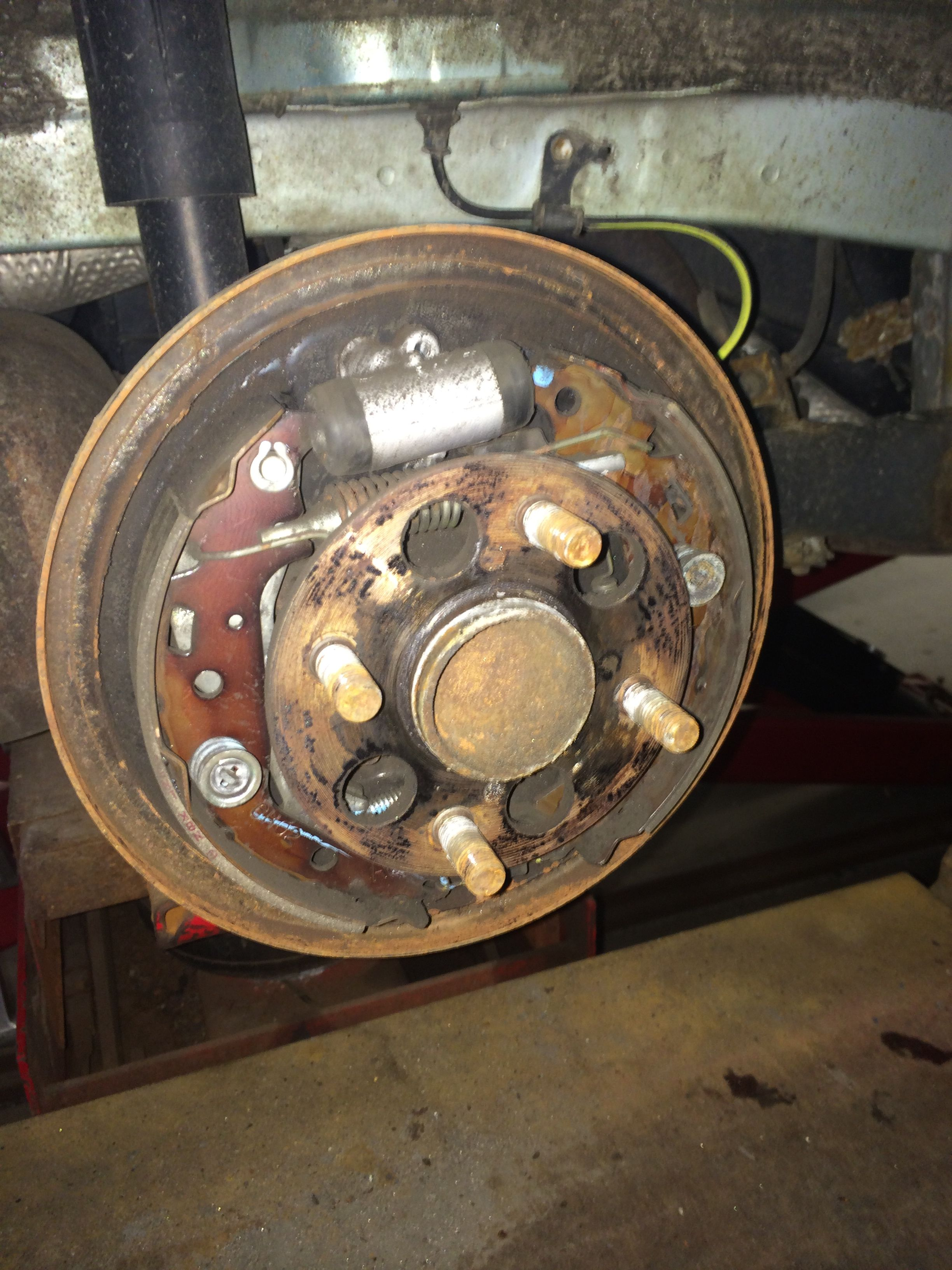 Are your brakes rusty and grinding or squeaking? Desk