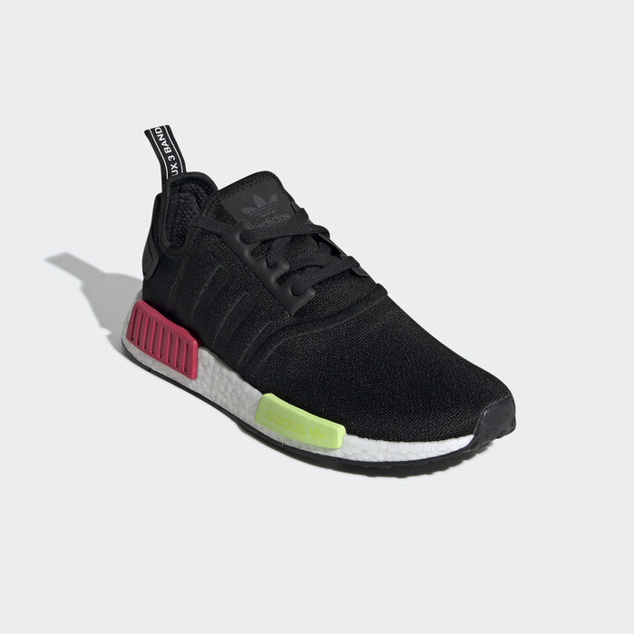 NMD_R1 Shoes in 2019 | Shoes, Nmd r1, Black shoes