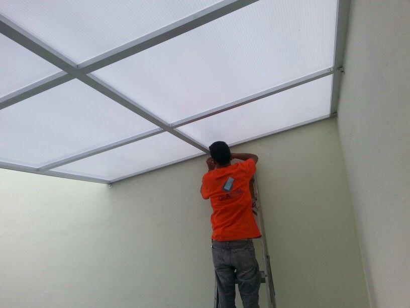 Domo de policarbonato celular domos pinterest tragaluz techos y techo de patio - Techo transparente policarbonato ...