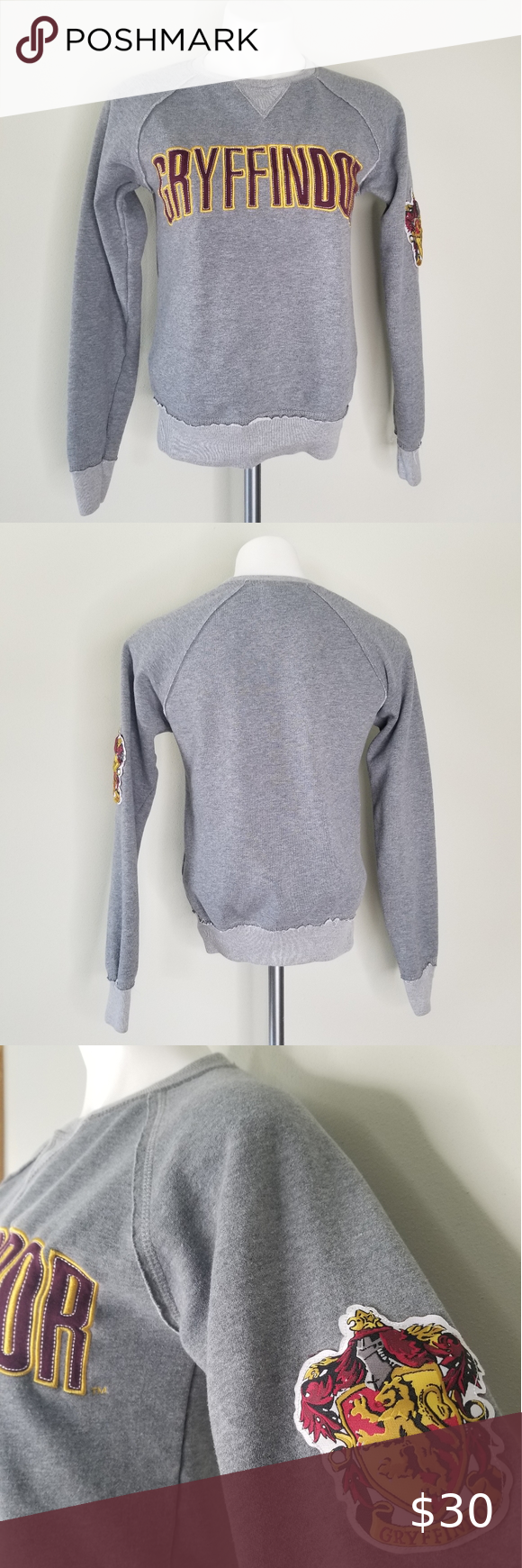 Gryffindor Harry Potter Crew Sweatshirt Size Xs Sweatshirts Crew Sweatshirts Sweatshirt Tops [ 1740 x 580 Pixel ]