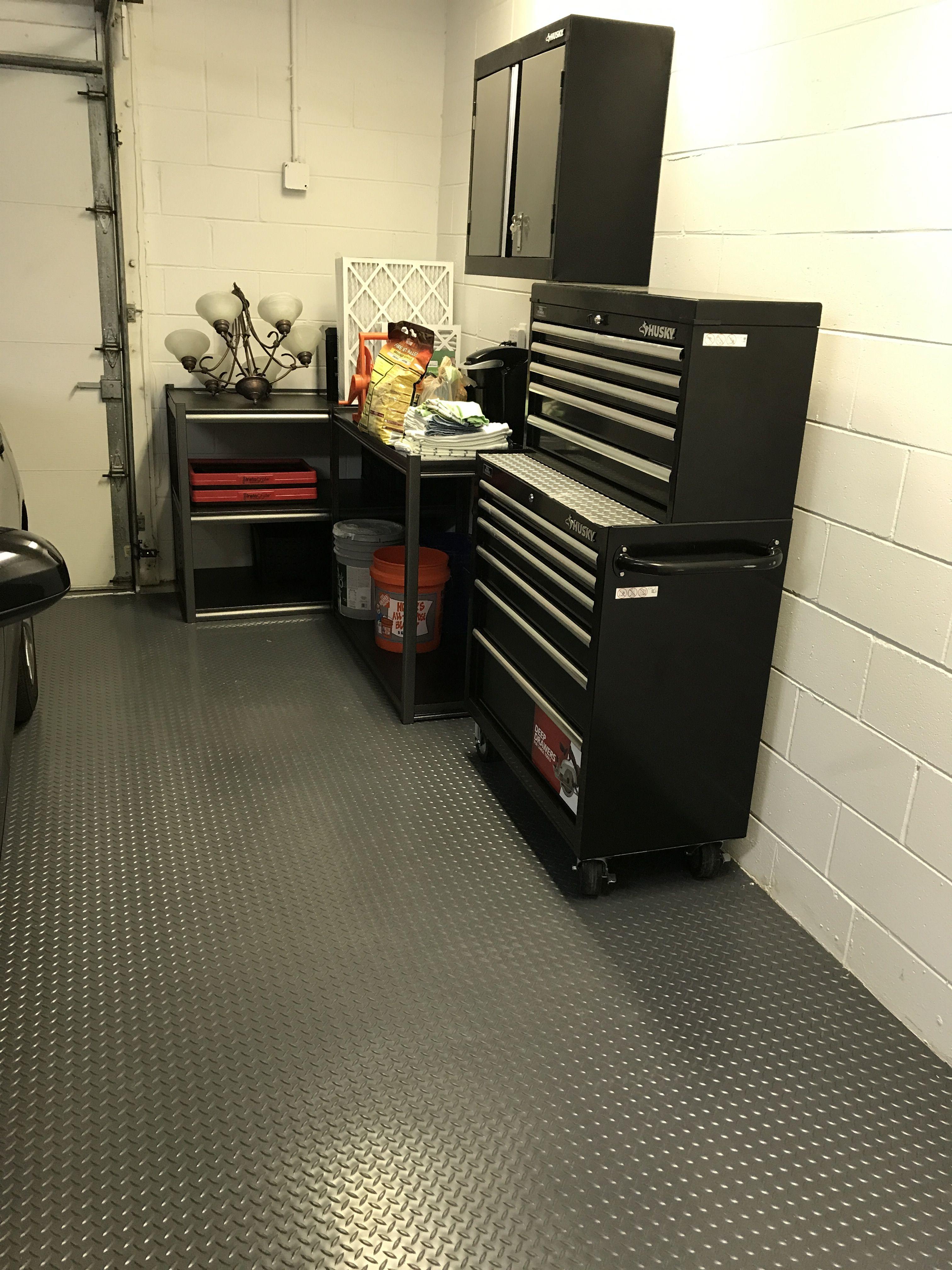Costco Car Floor Mats : costco, floor, Costco, Rubber, Garage, Floor, Diamond, Pattern., Cheaper, Epoxy., Flooring,, Mats,
