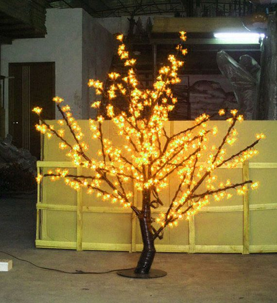 480pcs LEDs Cherry Blossom Tree Light 5ft/15m Height Christmas - outdoor christmas decorations wholesale