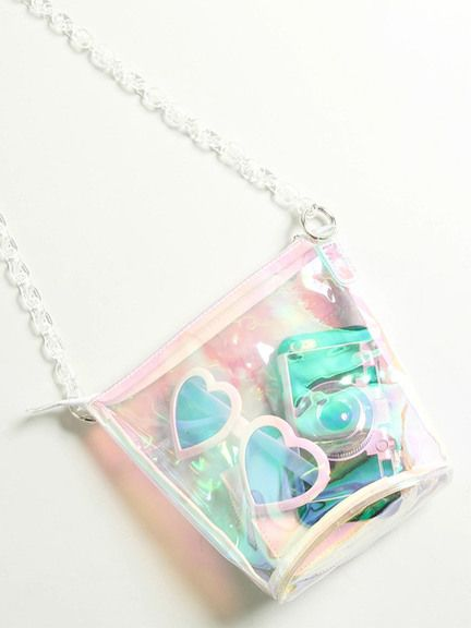 WEGO (Wigo) mail order | WEGO | clear mini chain shoulder bag