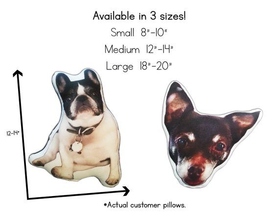 Custom Pet Pillow cat lover gift top selling items plush stuffed animal throw pillow custom dog pill