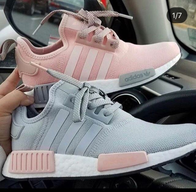 Adidas Nmd Grau Und Rosa Tennisschuhe In 2020 Turnschuhe Adidas Schuhe Damen Adidas Schuhe